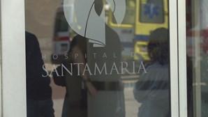 Enfermeira agredida no Hospital de Santa Maria em Lisboa