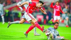 Capitão Pizzi salva Benfica no jogo frente ao Desportivo das Aves