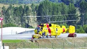"""Empresa russa está fazer """"diligência técnica"""" a helicópteros Kamov parados em Portugal há vários anos"""