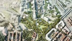 Obras congestionam circulação na Praça de Espanha, em Lisboa, até 9 de setembro