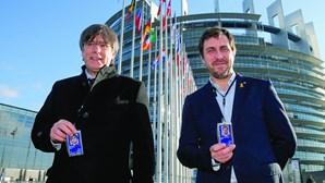 Puigdemont estreia-se como eurodeputado