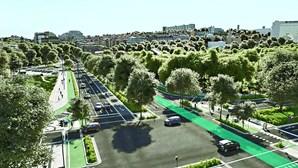 Nova praça de Espanha vai ter jardim gigante e menos carros