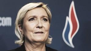 """Marine Le Pen considera Ventura um """"grande líder político"""" que conduzirá o partido """"à vitória"""""""
