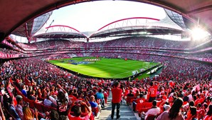 Lotação dos estádios de futebol reduzida para 16,7% da capacidade total