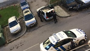 Algemado na rua após perseguição da PSP