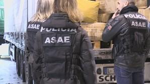 ASAE apreende artigos têxteis no valor de 100 mil euros em Vila do Conde