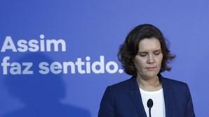 """""""Falhei o resultado"""": Assunção Cristas discursa pela última vez enquanto líder do CDS"""