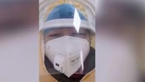 Enfermeira acusa China de mentir e garante que já há 90 mil infetados por coronavírus