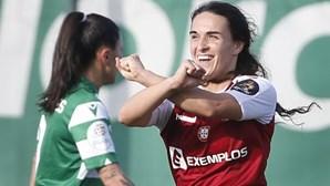 Sporting de Braga vence Sporting e segue em frente na Taça de futebol feminino