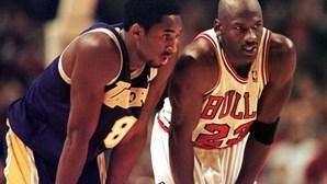 Kobe Bryant como Michael Jordan: o vídeo em homenagem à estrela da NBA que está a emocionar o Mundo