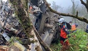 Acidente de helicópetro em Taiwan