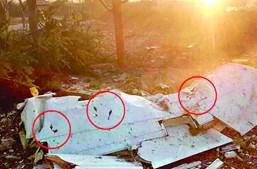 Boeing 737 caiu e não deixou sobreviventes