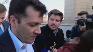António Joaquim a chegar ao tribunal
