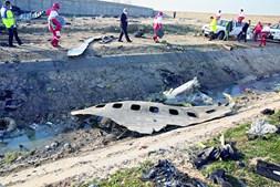 Boeing 737 da companhia aérea Ukranian Airlines seguia de Teerão para Kiev e foi abatido pouco tempo depois de ter descolado