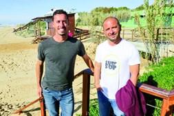 Mauro e João foram dois dos surfistas que salvaram as vítimas