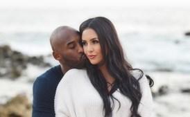 Kobe Bryant e a mulher