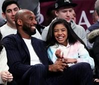 Kobe Bryant e a filha de 13 anos Gigi