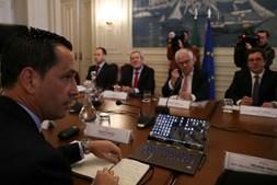 Ministro da Administração Interna esteve reunido com representantes da Liga Portuguesa de Futebol Profissional