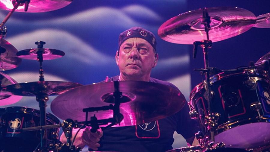 Neil Peart, baterista dos Rush