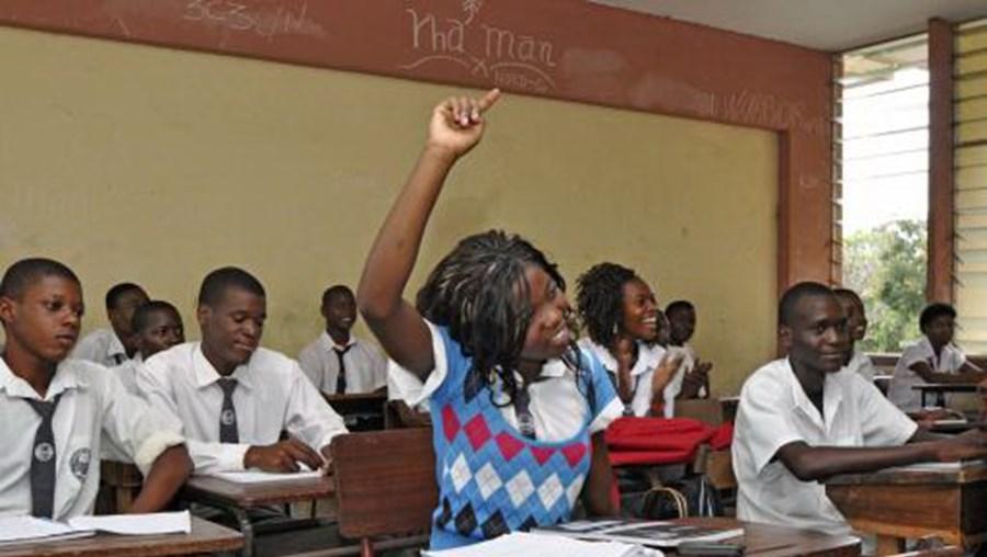 Escola em Moçambique