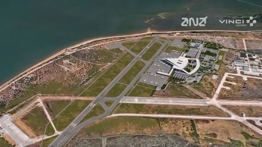 Novo aeroporto do Montijo