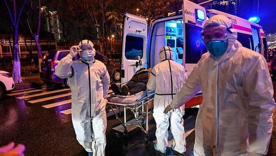 Surto de coronavírus em Wuhan