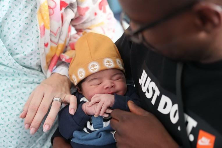 Primeiro bebé de 2020 nasceu na Maternidade Alfredo da Costa