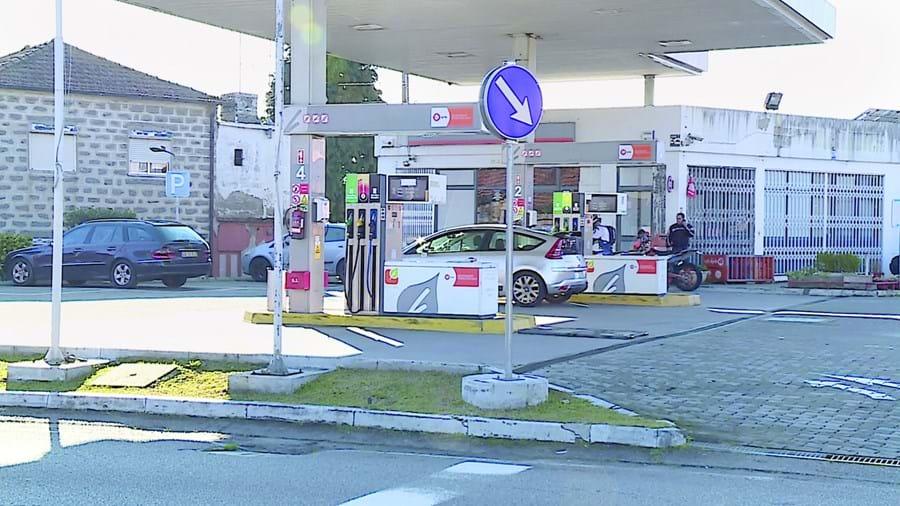 Posto de abastecimento localizado na EN101, na freguesia de Antas, foi alvo dos ladrões na manhã de ontem