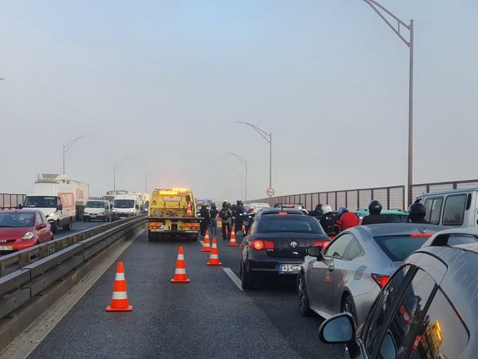 Acidentes condicionam trânsito na Ponte 25 de Abril no sentido Sul-Norte