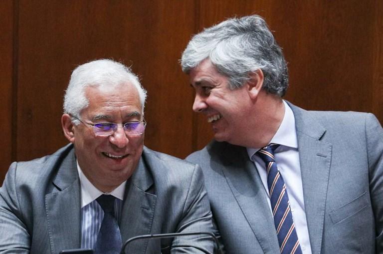 Centeno e António Costa