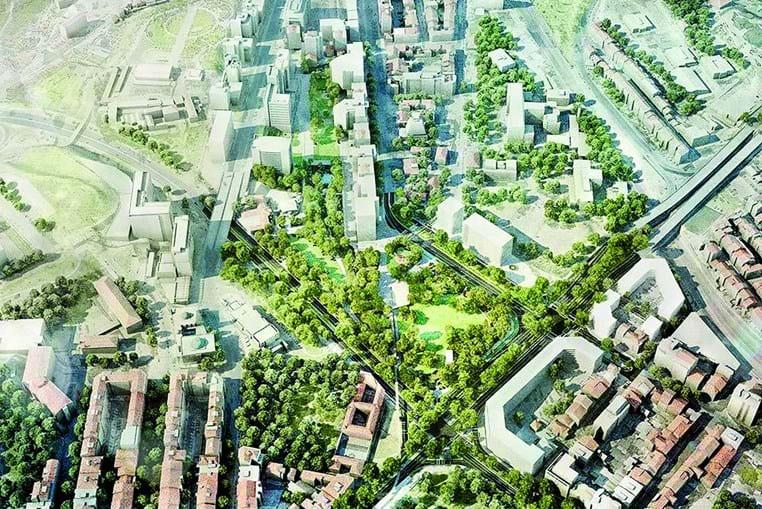 Praça de Espanha vai transformar-se num grande jardim, com espaços de lazer para crianças e adultos