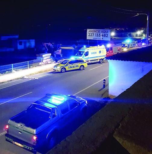 Acidente fatal ocorreu pelas 00h19 de ontem, na estrada nacional 2
