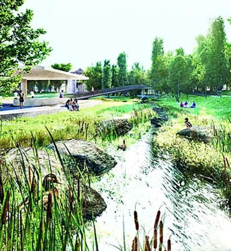 Lago terá ligação a ribeiro