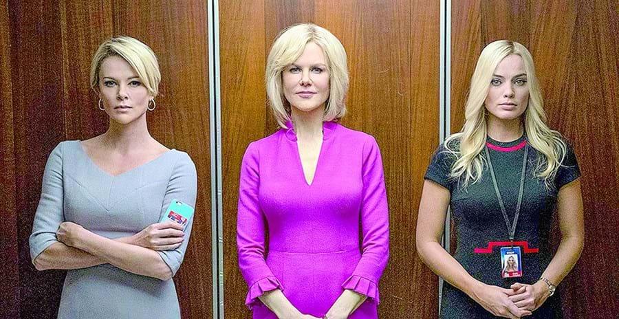 Charlize Theron, Nicole Kidman e Margot Robbie no filme