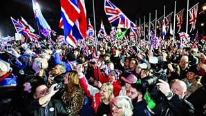 Celebração e lágrimas na hora da despedida do Reino Unido da União Europeia