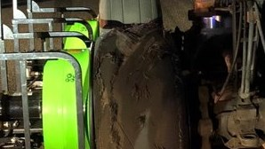 Veja as imagens do pneu rebentado que obrigou avião da Air Canada a aterrar de emergência em Madrid