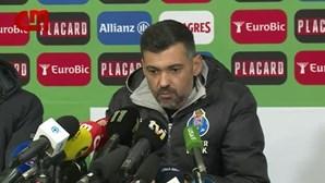 """Sérgio Conceição: """"Acho inacreditável como é que não se marca um penálti daqueles"""""""