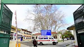 Hospitais de Lisboa Central com 96 internados em enfermaria e 18 em UCI
