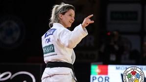 Telma Monteiro na final de -57 kg do Europeu de Judo. Medalha já está garantida