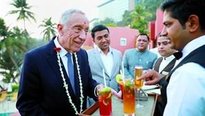 Presidente Marcelo espalha charme em Bombaim