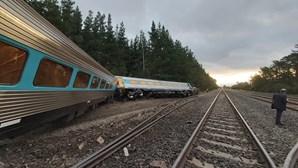 Imagens mostram descarrilamento de comboio na Austrália que fez dois mortos e dezenas de feridos