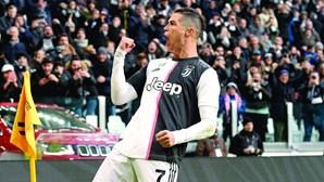 'Tweets' de Cristiano Ronaldo valem 804 mil euros