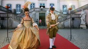 """""""Carnaval do Palácio"""": Oeiras recria viagem ao século XVIII para mostrar como se festejava na altura. Veja as imagens"""