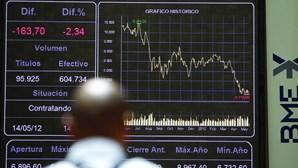 Bolsa espanhola liderou as quedas