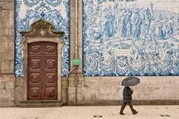 Dia de chuva no Porto
