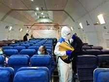 Combate ao surto na China passa pela desinfeção dos aviões