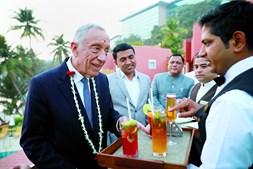 Marcelo Rebelo de Sousa na Índia