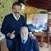 Pai de Quim Barreiros celebra 101 anos: 'Amor, admiração e orgulho'