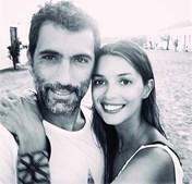 Maria Cerqueira Gomes e o ex-companheiro António Miguel Cardoso