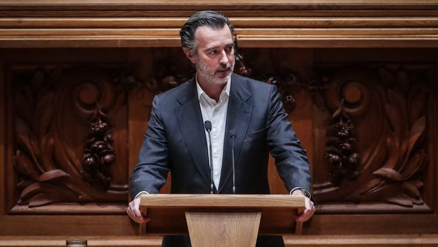 José Cotrim Figueiredo, deputado do Partido Iniciativa Liberal
